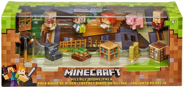 Minecraft Mattel Village Biome Figures Pack