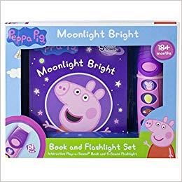 Peppa Pig - Moonlight Bright Book and Flashlight Set