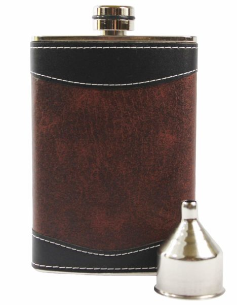 Primo Liquor Flasks 8oz Stainless Steel