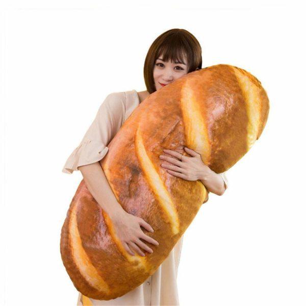 Gecter 3D Simulation Bread Shape Pillow