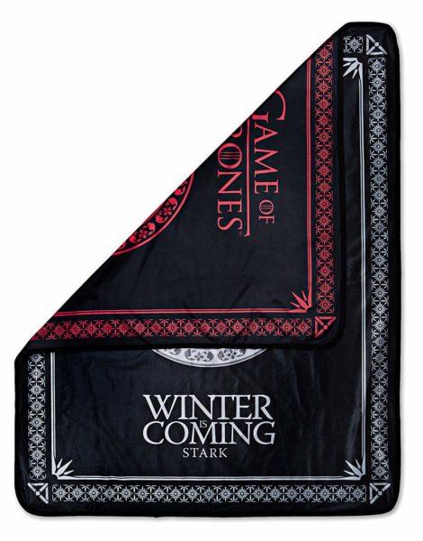 """Game of Thrones Reversible Fleece Throw Blanket 46"""" x 60"""""""