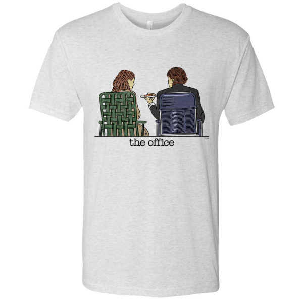The Office - Jim and Pam Roof Date T-Shirt