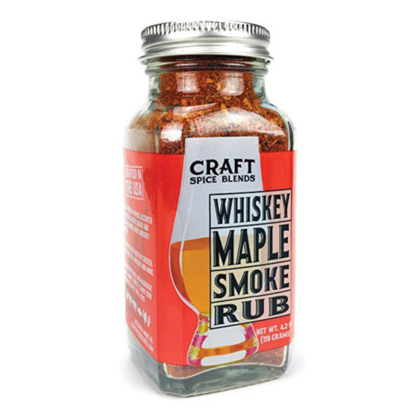 Whiskey Maple Smoke All Purpose Rub