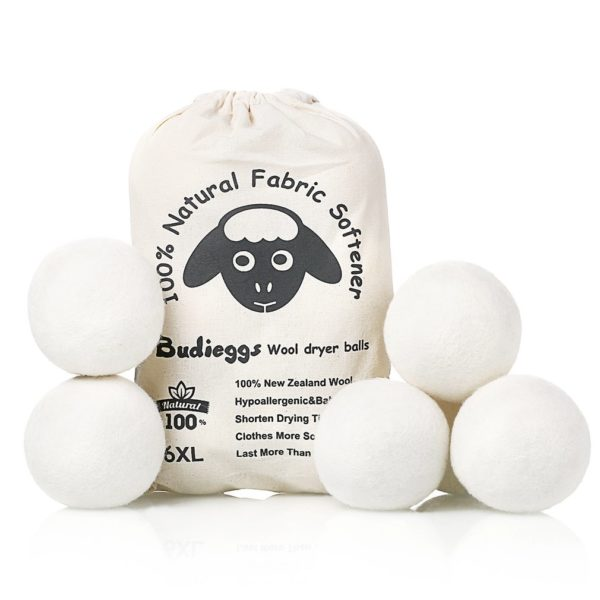 6 XL Organic Wool Dryer Balls