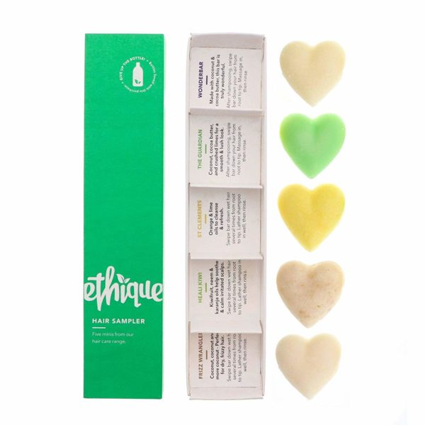 Ethique Eco-Friendly, Hair Sampler 5 ea