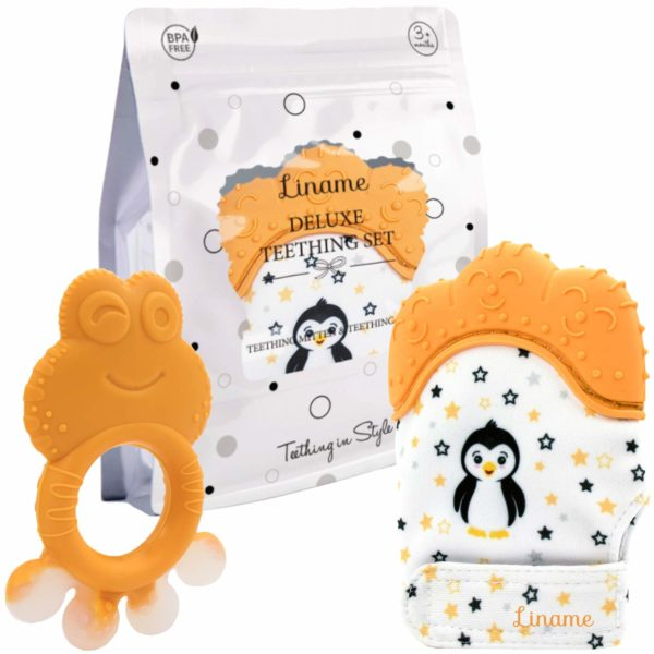 Liname️ Deluxe Teething Set