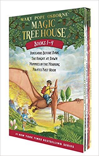 Magic Tree House Boxed Set, Books 1-4