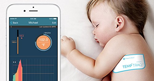 TempTraq 24-Hour Intelligent Baby Fever Monitor