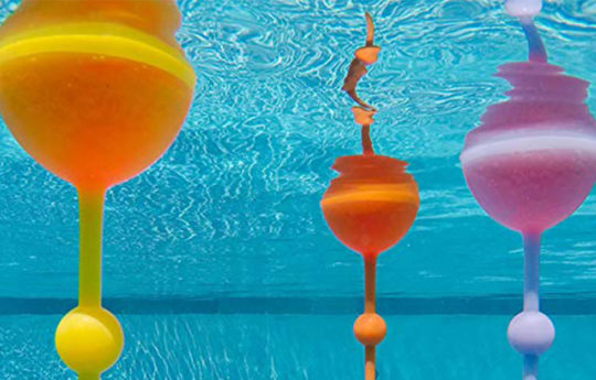 Sip Into Summer With This Colorful Floating Wine Glass