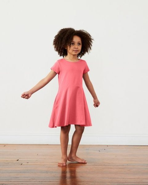 The Short Sleeve Twirly Dress