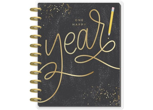 "2019-2020 Academic Planner 11.5""x 10"" One Happy Year Teacher BIG Planner- The Happy Planner"