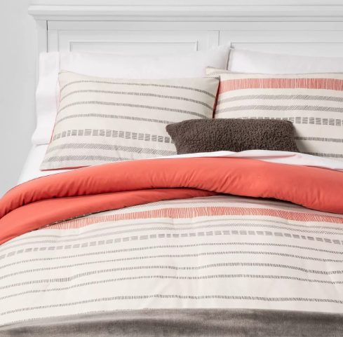 Dash Stripe Bed in a Bag Neutral - Room Essentials™