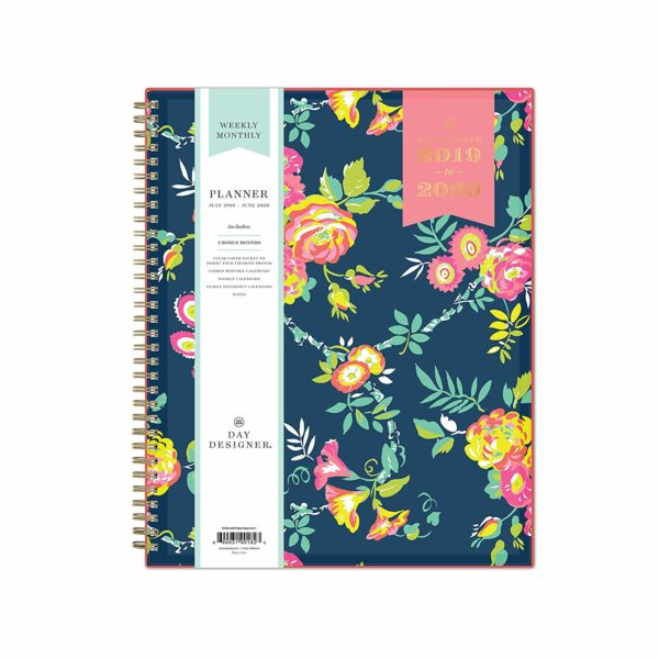 Day Designer for Blue Sky 2019-2020 Academic Year Weekly & Monthly Planner