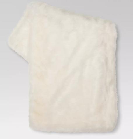 "Faux Fur Throw Blankets (50""x 60"") - Threshold™"