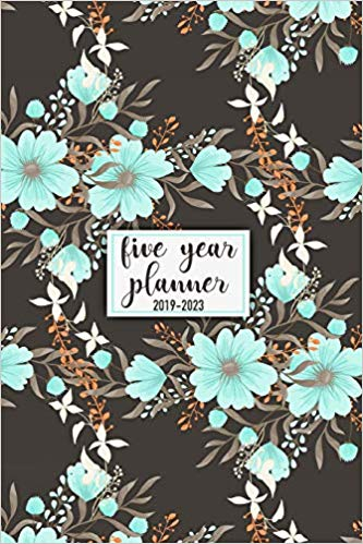 Five Year Planner: 2019 - 2023 Pocket Planner
