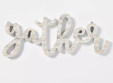 Gather Decorative Holiday Sign - Spritz™
