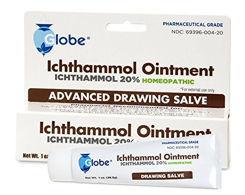 Ichthammol Ointment 20%, (Drawing Salve)