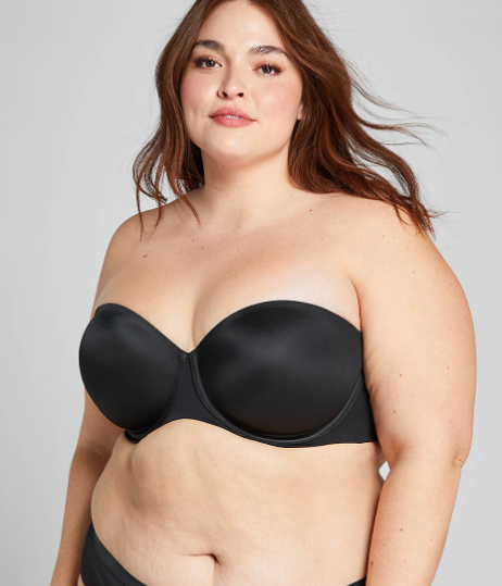 Cacique Lightly Lined Multi-Way Strapless Bra