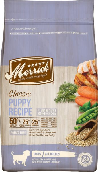 Merrick Classic Puppy Recipe Dry Dog Food