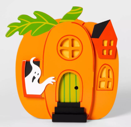 Mini Mantel Pumpkin House Halloween Décor - Hyde & EEK! Boutique™