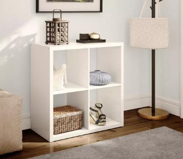 """4-Cube Organizer Shelf 13"""" - Threshold™"""
