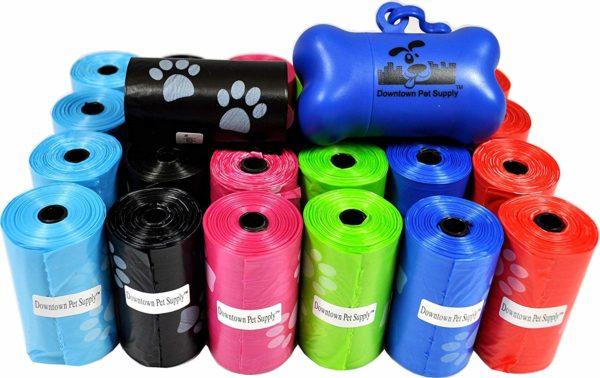Pet waste bags bulk roll