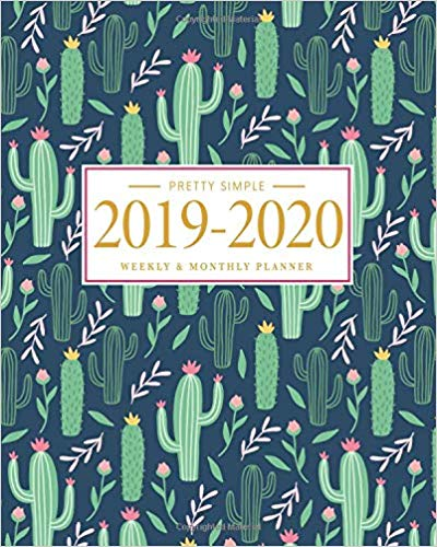 Pretty Simple Planners Weekly and Monthly Cactus Planner