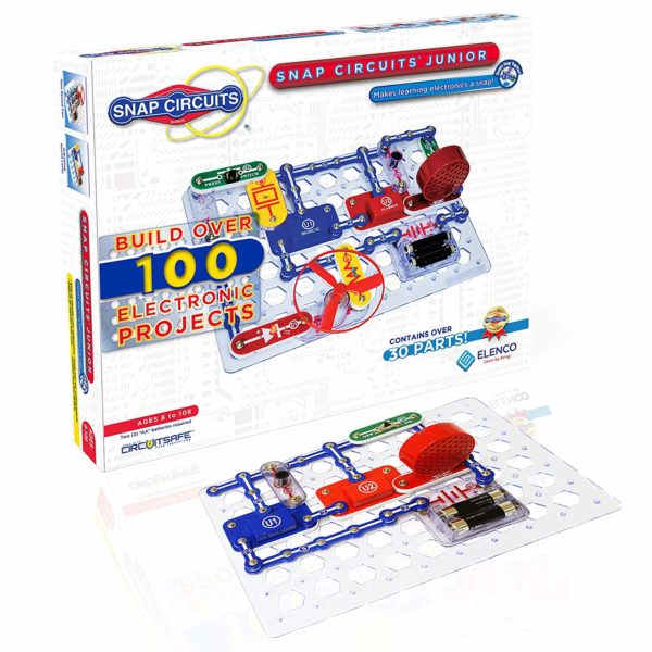 Snap Circuits Jr. SC-100 Electronics Exploration Kit