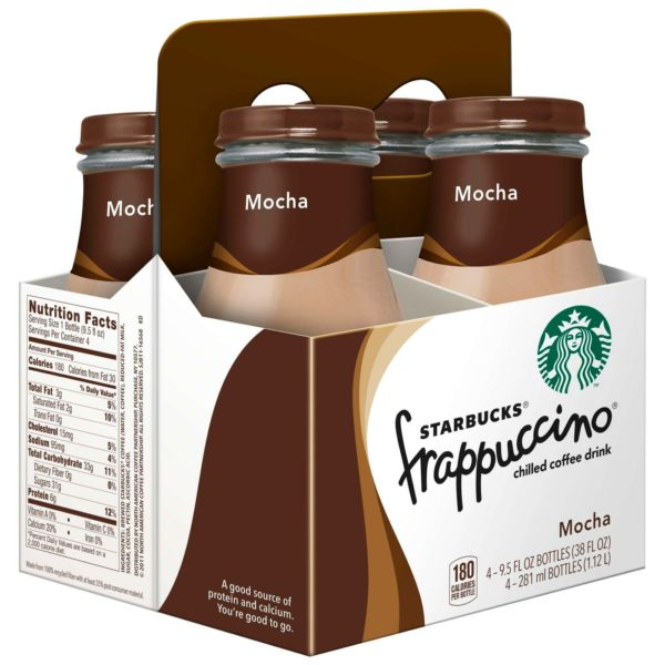 Starbucks Frappuccino Mocha Coffee Drink - 4pk/9.5 fl oz Glass Bottles