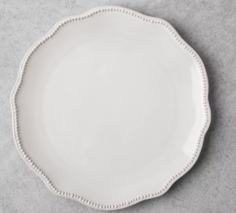 Stoneware Dinner Plate - Cream - Hearth & Hand™ with Magnolia