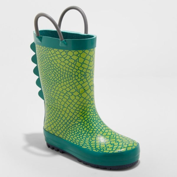Toddler Boys' Graig Rain Boots - Cat & Jack™ Green