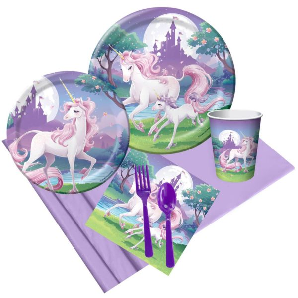 Unicorn Fantasy 8ct Party Pack