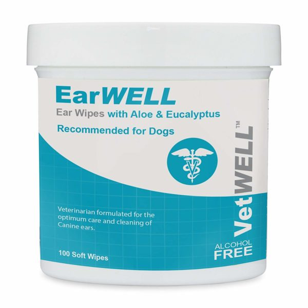 VetWELL Dog Ear Wipes