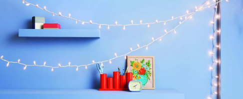 White Cord String Lights Clear - Room Essentials™