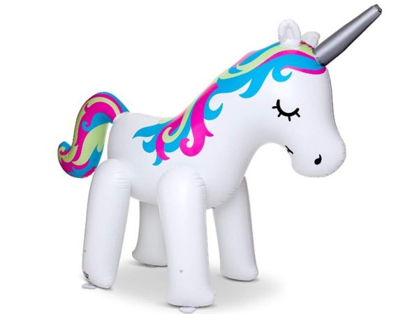 BigMouth Inc. Ginormous Inflatable Magical Unicorn Yard Sprinkler