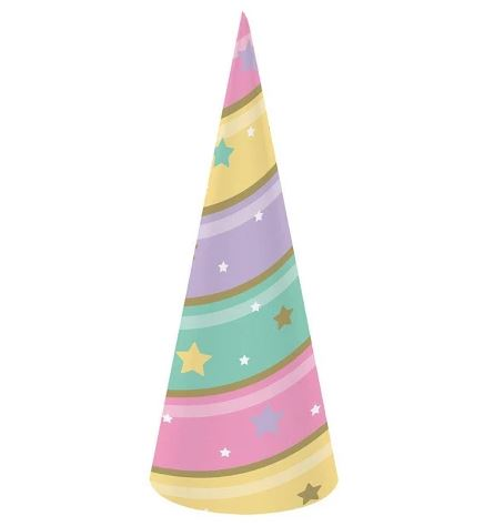 24ct Sparkle Unicorn Horn Hat