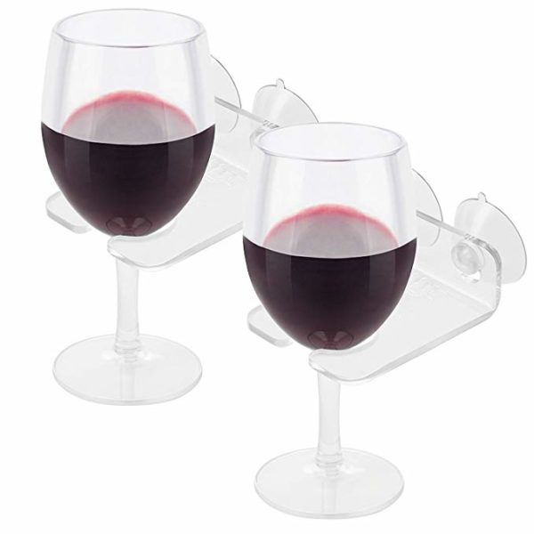 Bathtub Wine Glass Cupholder