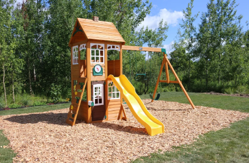 KidKraft McKinley Wooden Swing Set/Playset