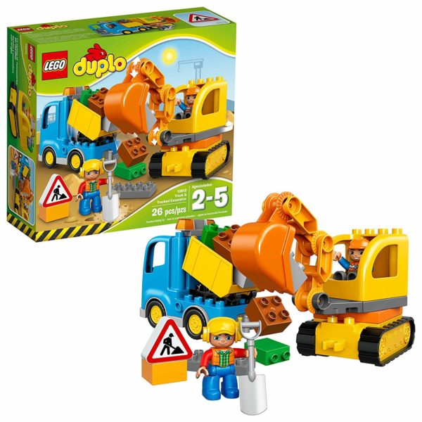 LEGO DUPLO Town Truck & Tracked Excavator