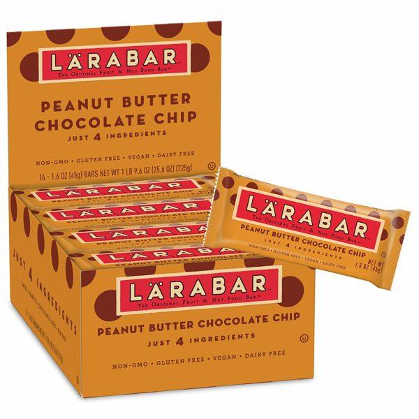 Larabar Gluten Free Bar, Peanut Butter Chocolate Chip