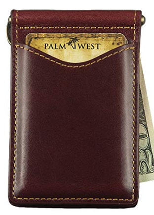 Palm West Front Pocket Money Clip Wallet