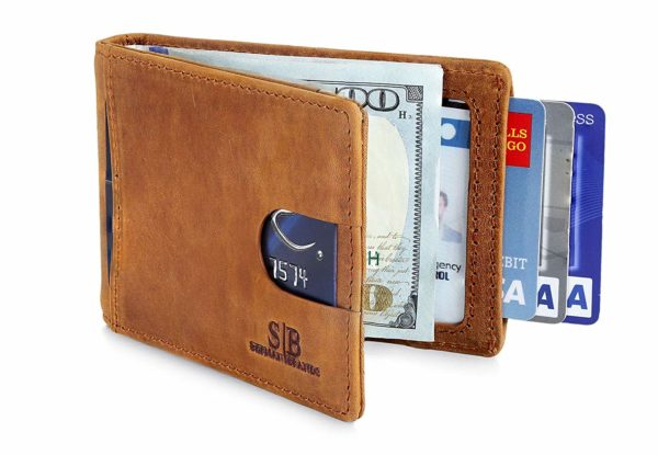 SERMAN BRANDS RFID Blocking Slim Bifold