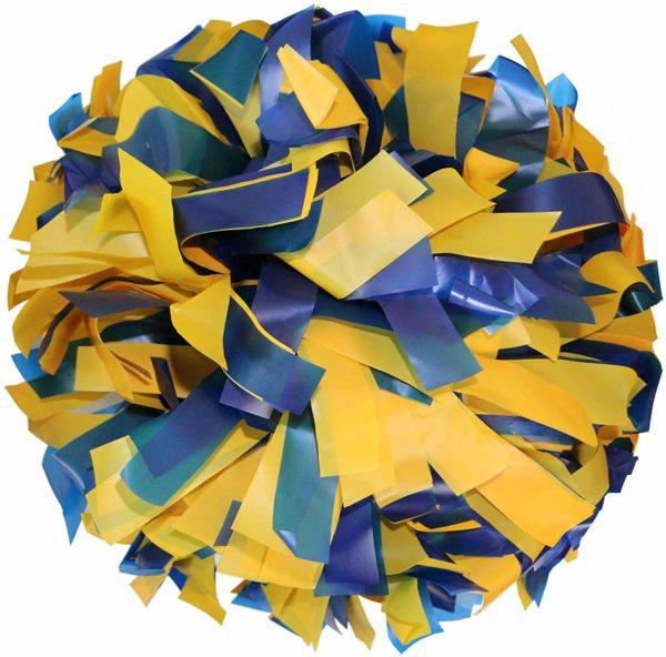 Danzcue 1 Pair 6 Inches Plastic Cheerleading Pom Poms