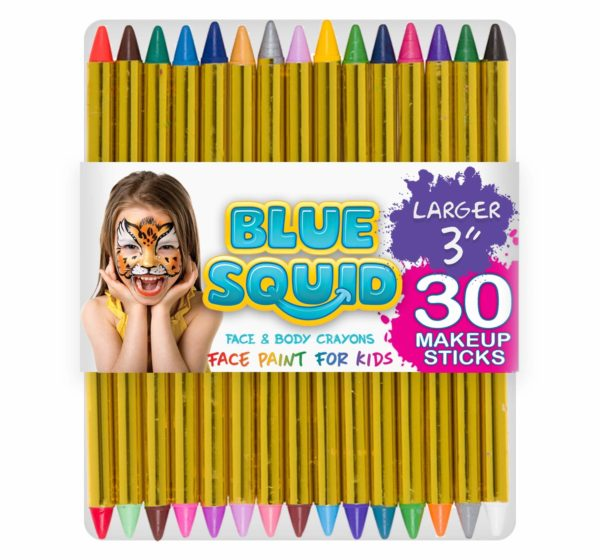 Face Paint Crayons 30 for Kids