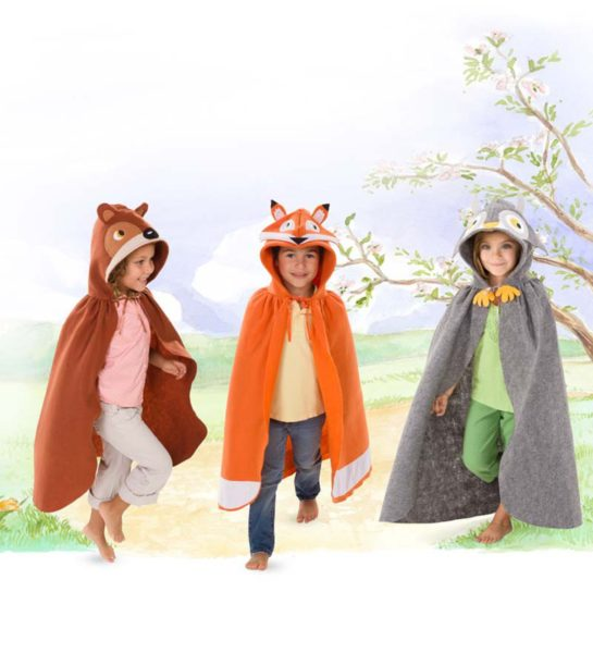 Forest Friend Cloaks and Plush