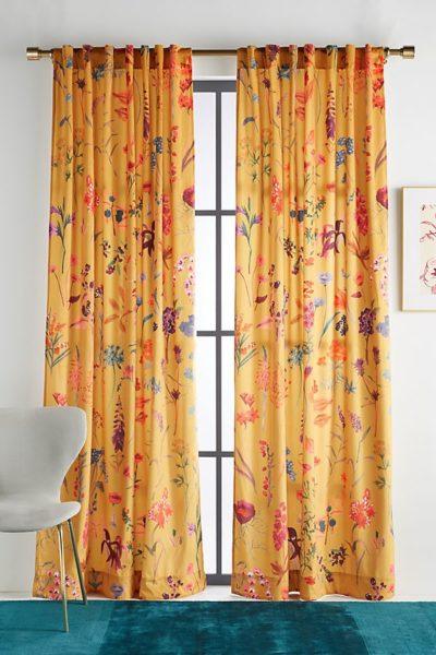 Layne Velvet Curtain