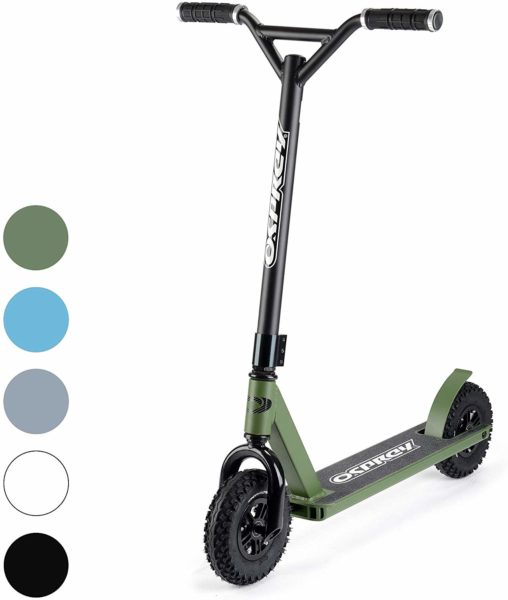 Osprey Dirt Scooter with Off Road All Terrain Pneumatic Trail Tires