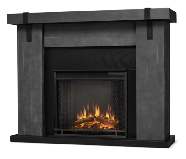 REAL FLAME® ASPEN ELECTRIC FIREPLACE, GRAY