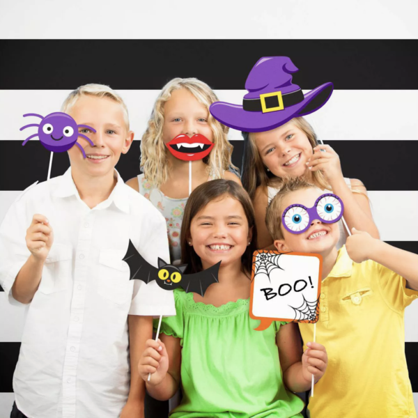 Halloween Party Photo Booth Kit