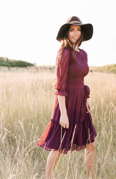 Smocked Dress RACHEL PARCELL